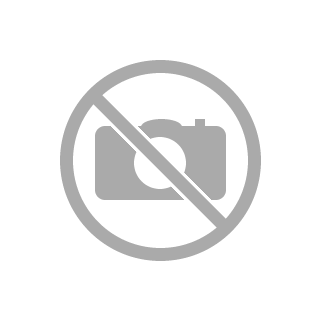 Krótkie uchwyty | Forato piatto ecopelle stampata slogan | Nero
