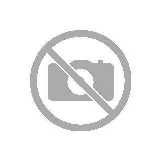 O bag Tote | Simil pelle stampa logo | Rosso/nero