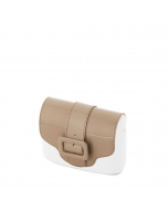 Klapka O Pocket | Simil pelle vernice | Sabbia