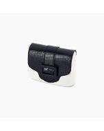 Klapka O Pocket Ecopelle stampa cocco Blu navy
