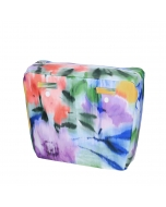 Organizer O bag urban Passanti stampa floreale nappa Mix colori