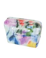 Organizer O bag standard Simil pelle nappa floreale Mix colori