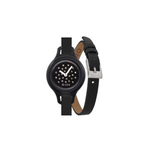Zegarek O clock click shift Nero