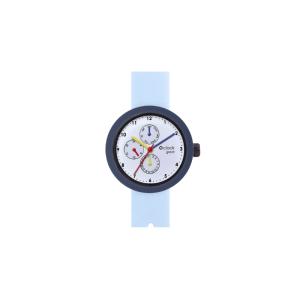 Zegarek O clock shift great satin Celeste