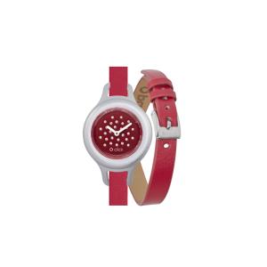 Zegarek O clock click shift Rosso