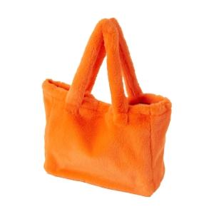 Torebka O bag sac Ecopelliccia Fluo arancione