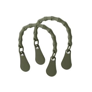 Krótkie uchwyty Bamboo + goccia | Military