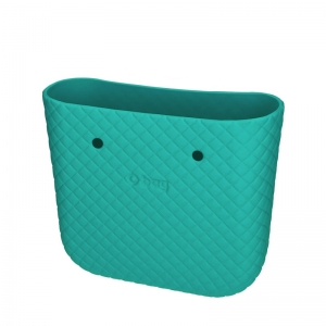 Body O bag mini matelasse Acqua