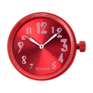 Mechanizm zegarka O clock faded numbers Granatina