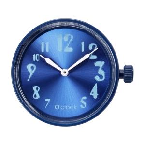 Mechanizm zegarka O clock faded numbers Imperial blu