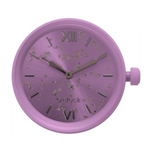 Mechanizm zegarka O clock silver leaf Valeriana