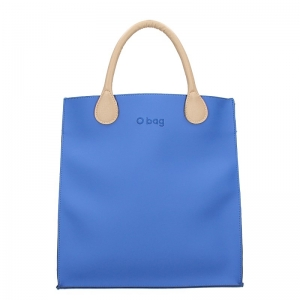 Zestaw O bag Market gommato Cobalto