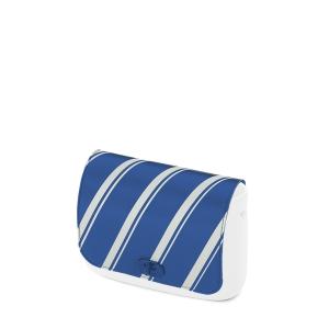 Klapka O Pocket Ecopelle active stripes Bluette