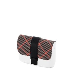 Klapka O Pocket Check fluo Rosa fluo/nero