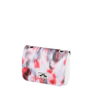 Klapka O bag pocket Girello con occhielli crepa de chine Granatina