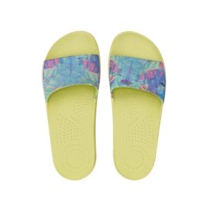 Klapki O slippers donna stampa Rebels Celery green rozmiar 40