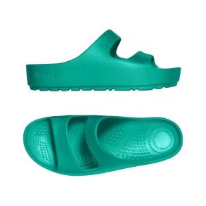 Klapki O shoes Donna High Blue grass rozmiar 35 36