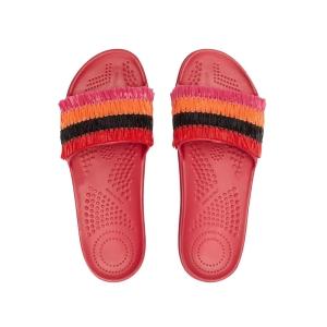 Klapki O slippers donna Rafia Granatina 38