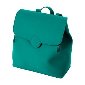 Plecak O bag lift tessuto gommato Blue grass