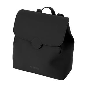 Plecak O bag lift tessuto gommato Nero