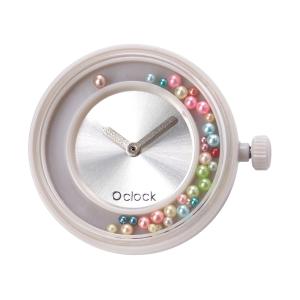 Mechanizm zegarka O clock Dancing pearl Argento