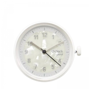 Mechanizm O clock Great Circle mother of pearl Argento