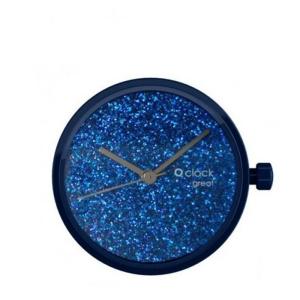 Mechanizm O clock Great Crystal full sky Blu navy