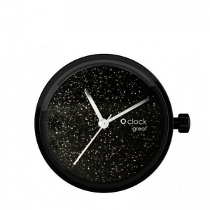 Mechanizm O clock Great Crystal full sky Nero