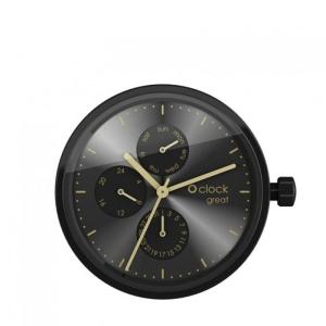 Mechanizm O clock Great Date Black/gold
