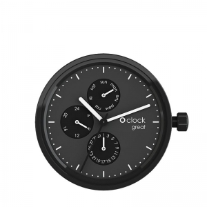 Mechanizm O clock Great Date Black