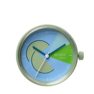 Mechanizm O clock Great date Capirinha Verde antico