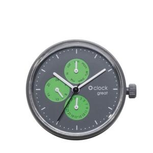 Mechanizm O clock Great Date Generico Fluo Verde