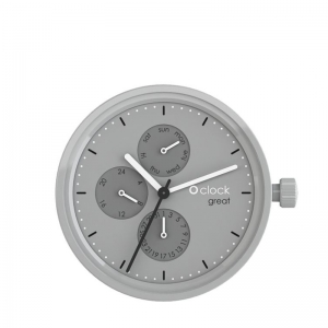Mechanizm O clock Great Date Grey