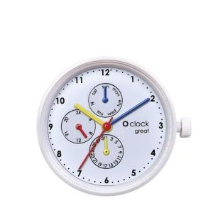 Mechanizm O clock Great Date New York Times square Bianco