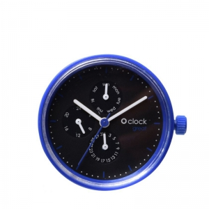 Mechanizm O clock Great date Seconds Blu