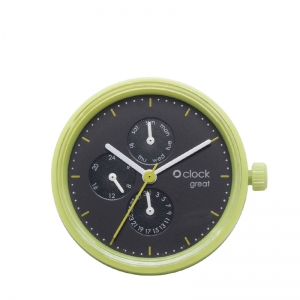 Mechanizm O clock Great date Seconds Mela