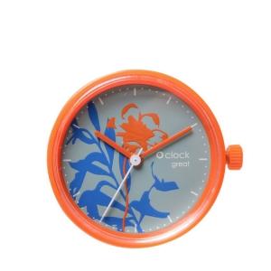 Mechanizm O clock Great date Sunset Arancione
