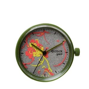 Mechanizm O clock Great date Sunset Verde scuro