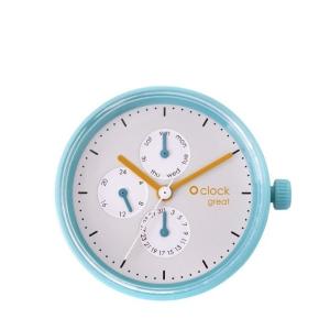 Mechanizm O clock Great | Date Generico Verde Antico