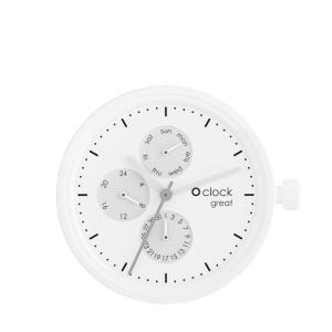 Mechanizm O clock Great Date White