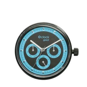 Mechanizm O clock Great Racing Fluo Acqua