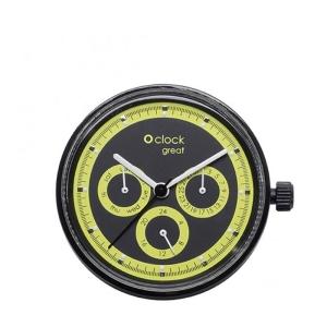 Mechanizm O clock Great Racing Fluo Lime