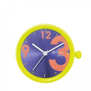 Mechanizm O clock Great | Soleil fluo numbers | Coral