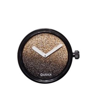 Mechanizm O clock Glitter gold