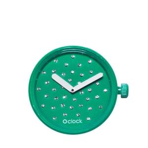 Mechanizm O clock Niebieski morski CRISTAL