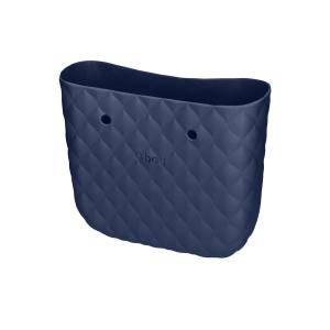 Body O bag mini capitonne Blu navy
