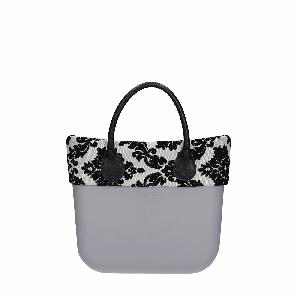 Torebka O bag mini Grigio chiaro