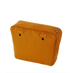 Organizer O bag mini simil pelle nubuck Biscotto