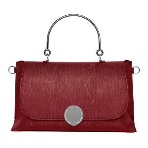 O bag primrose | Ecopelle saffiano | Rosso