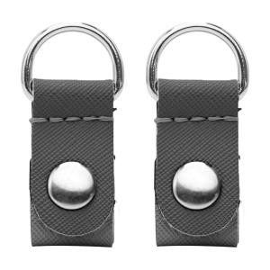 Klipsy O Pocket | Saffiano | Grigio scuro
